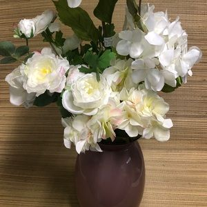 Variety of White Flowers